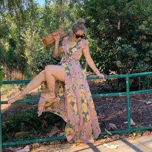 Reformation Rosie maxi dress